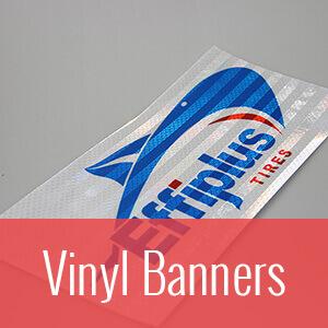 reflective vinyl banner
